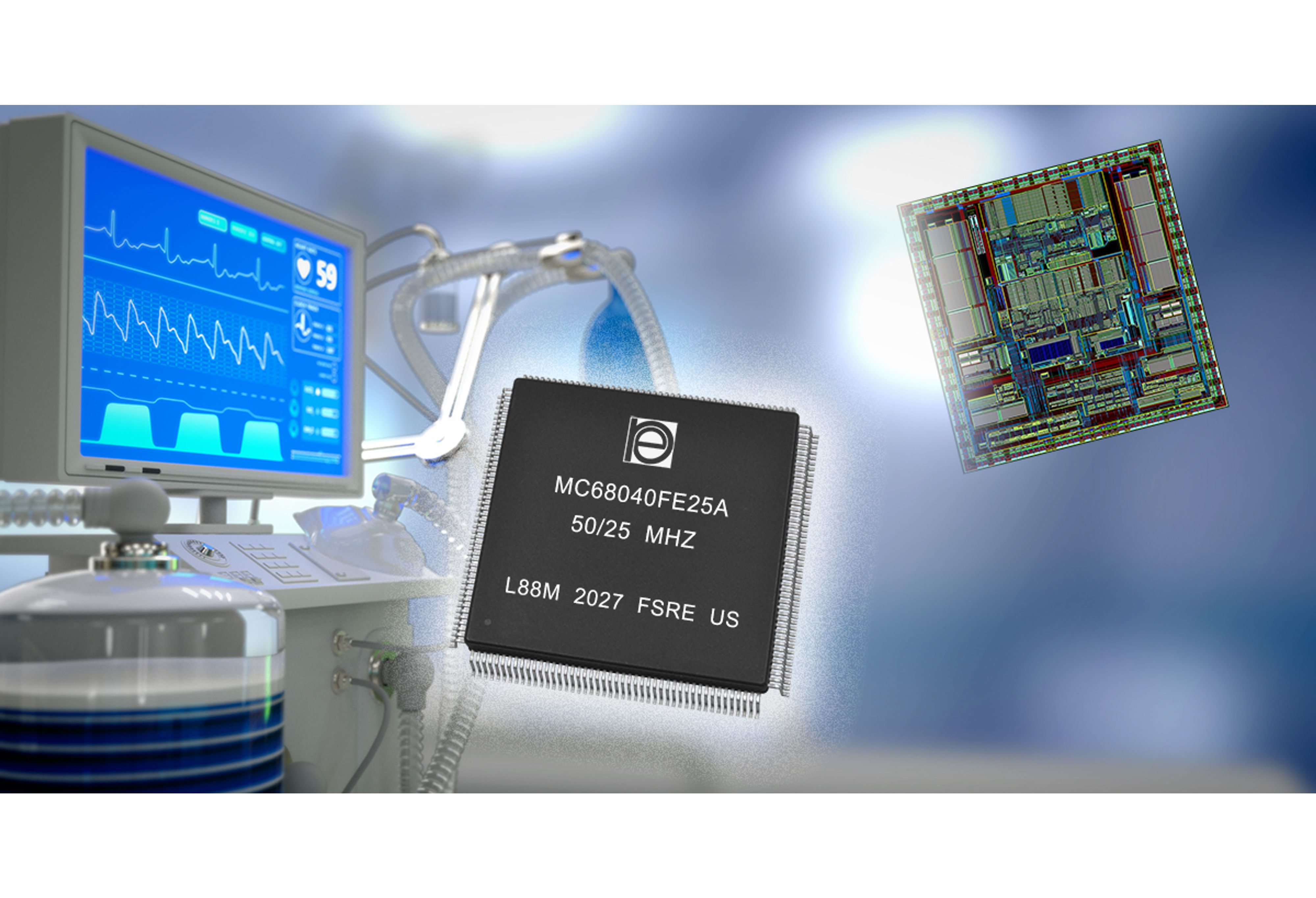 Hermetic Packages for MC68040FE Microcontrollers